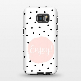 Galaxy S7 EDGE  Enjoy on polka dots by Utart