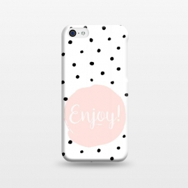 iPhone 5C  Enjoy on polka dots by Utart