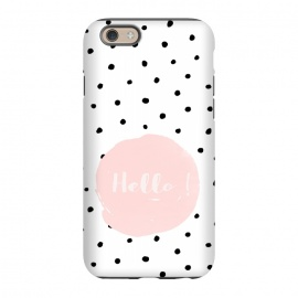 iPhone 6/6s  Hello on polka dots  by Utart