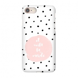 iPhone 8/7  Et voila la merde and polka dots by Utart