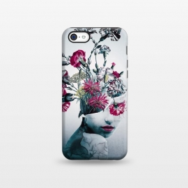 iPhone 5C  The spirit of flowers by Riza Peker