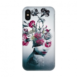 iPhone X  The spirit of flowers by Riza Peker