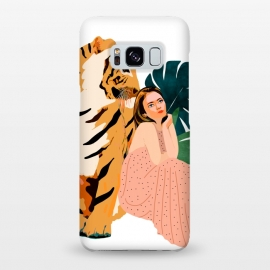 Galaxy S8+  Tiger Spirit by Uma Prabhakar Gokhale