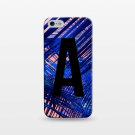 iPhone 5/5E/5s  Letter A by Laura Grant (A,Letter A,typography,initial)