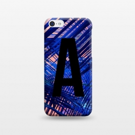 iPhone 5C  Letter A by Laura Grant (A,Letter A,typography,initial)