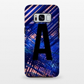 Galaxy S8+  Letter A by Laura Grant (A,Letter A,typography,initial)
