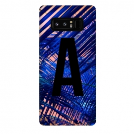 Galaxy Note 8  Letter A by Laura Grant (A,Letter A,typography,initial)