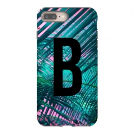 Letter B by Laura Grant (Letter B,B,Palm,Summer,Typography,palm tree)