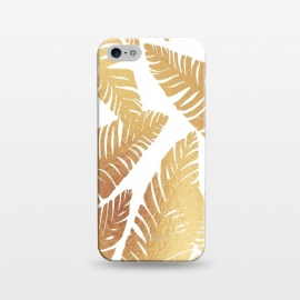 iPhone 5/5E/5s  Glam Leaves by