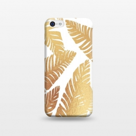 iPhone 5C  Glam Leaves by ''CVogiatzi.
