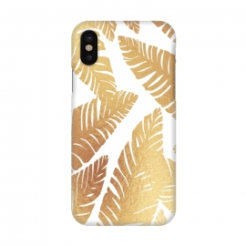 iPhone X  Glam Leaves by ''CVogiatzi.