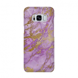 Purple and Gold Marble by Utart