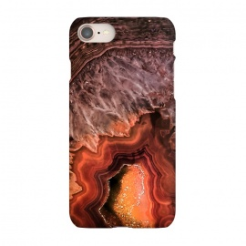 iPhone 8/7  Copper Brown Agate by Utart