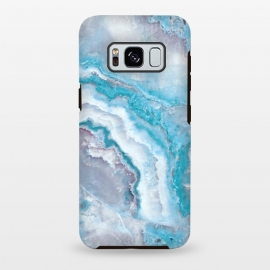 Galaxy S8+  Teal Veined Agate by Utart
