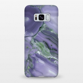 Galaxy S8+  Purple Malachite Agate by Utart