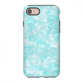 iPhone 8/7  Aqua White Mother of pearl by Utart