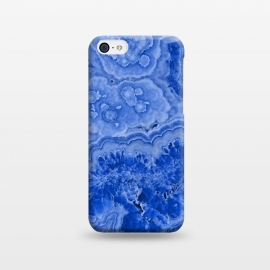 iPhone 5C  Ocean Blue Agate by Utart