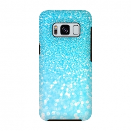 Sky Blue Faux Glitter by Utart