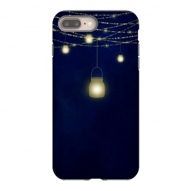 iPhone 8/7 plus  Sparkling Light Jars at night by Utart