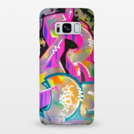 Galaxy S8+  Colorful Grafitti Tag by Andrea Haase