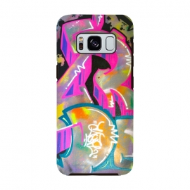 Galaxy S8  Colorful Grafitti Tag by Andrea Haase