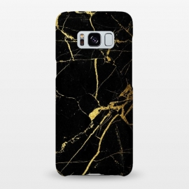 Galaxy S8+   Black-Gold Marble Impress by ''CVogiatzi.