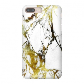 iPhone 8/7 plus  Gold-White Marble Impress by ''CVogiatzi.