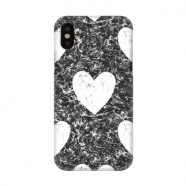 iPhone X  Cozy Hearts by ''CVogiatzi.
