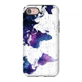 iPhone 8/7  ALLOVER THE WORLD-Galaxy map by ''CVogiatzi.