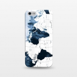 iPhone 5/5E/5s  ALLOVER THE WORLD-Woods fog by