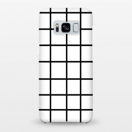 Galaxy S8+  Grid White & Black by ''CVogiatzi.