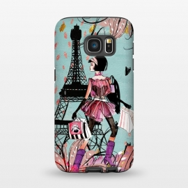 Galaxy S7  Fashion Girl in Paris by Utart