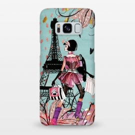 Galaxy S8+  Fashion Girl in Paris by Utart