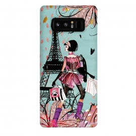 Galaxy Note 8  Fashion Girl in Paris by Utart