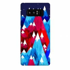 Galaxy Note 8  Blue Peak Mountains by Steve Wade (Swade)