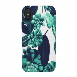 iPhone Xs / X  Cactus Design by ''CVogiatzi. (Cantus, design, decor, home, cozy, nature, new, trend, style, leaves, tirquaz, green, flower, cvogiatzi, desert, pattern, vintage, wood)
