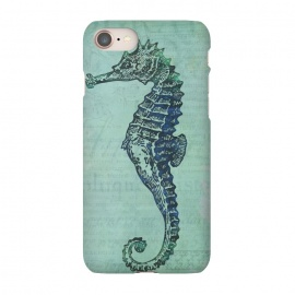 iPhone 8/7  Vintage Seahorse by Andrea Haase