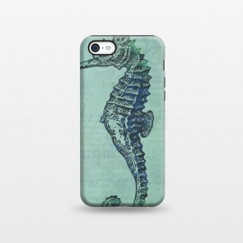iPhone 5C  Vintage Seahorse by Andrea Haase