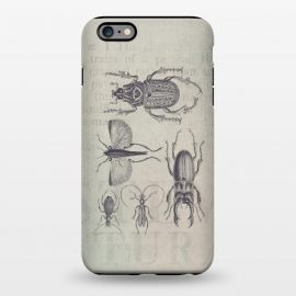 iPhone 6/6s plus  Vintage Beetles And Bugs by Andrea Haase