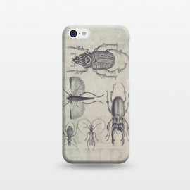 iPhone 5C  Vintage Beetles And Bugs by Andrea Haase
