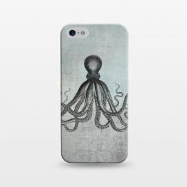 iPhone 5/5E/5s  Octopus Vintage Art by Andrea Haase