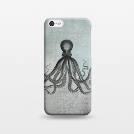iPhone 5C  Octopus Vintage Art by Andrea Haase