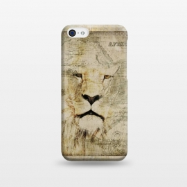 iPhone 5C  Lion King Of Africa Collage by Andrea Haase