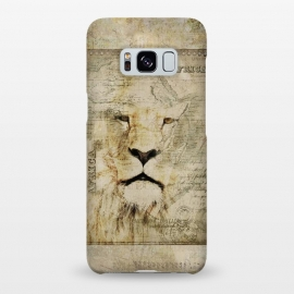 Galaxy S8+  Lion King Of Africa Collage by Andrea Haase