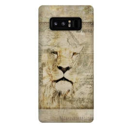 Galaxy Note 8  Lion King Of Africa Collage by Andrea Haase