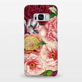 Galaxy S8+  Peonies and other Spring Flower pattern by Utart