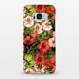 Galaxy S8+  Vintage Flower Garden by Utart