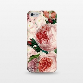 iPhone 5/5E/5s  Roses and Hydrangea Pattern by Utart