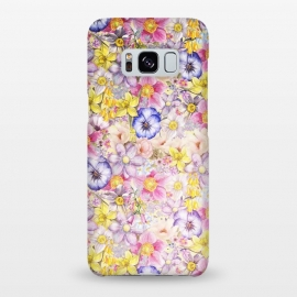Galaxy S8+  Lovely Spring Pansy Pattern by Utart