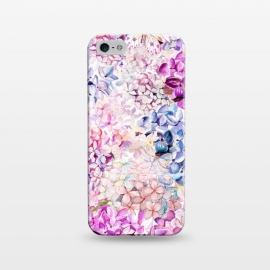 iPhone 5/5E/5s  Purple Lilacs and Hydrangea by Utart